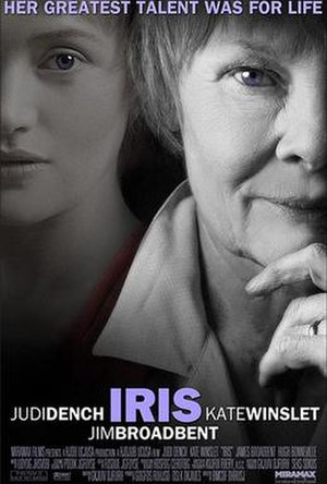 Iris (2001 film) - Theatrical release poster