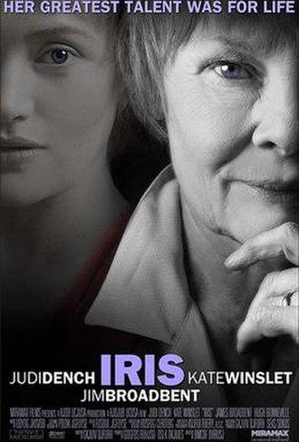 Iris (2001 film) - Theatrical release poster