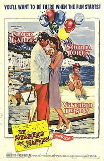 <i>It Started in Naples</i> 1960 film by Melville Shavelson