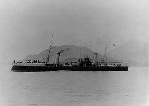 Italian cruiser Caprera - Image: Italian cruiser Caprera