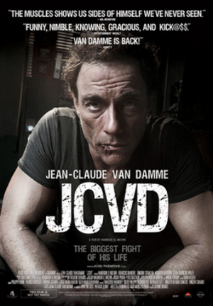 JCVD (film) - Theatrical release poster