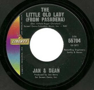The Little Old Lady (from Pasadena) - Image: Jan and Dean Little Old Lady