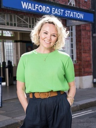 Janine Butcher Fictional character from the BBC soap opera EastEnders