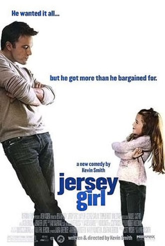 Jersey Girl (2004 film) - Theatrical release poster