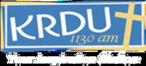 KRDU - Image: KRDU 1130am logo