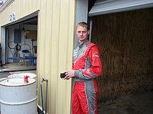 Kertus Davis 2008 New Hampshire in Garage.JPG