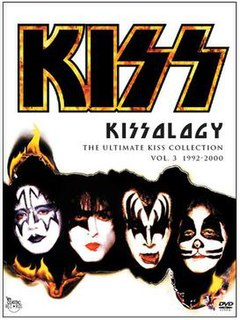 <i>Kissology Volume Three: 1992–2000</i> 2007 video by Kiss
