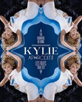 Aphrodite: Les Folies Tour - Image: Km lft