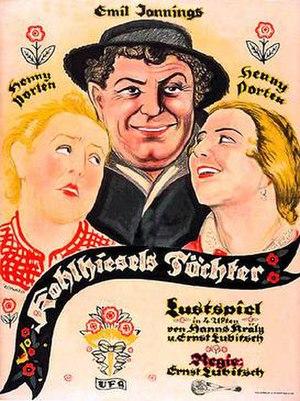 Kohlhiesels Töchter (1920 film) - Image: Kohlhiesel's Daughters (1920 film)