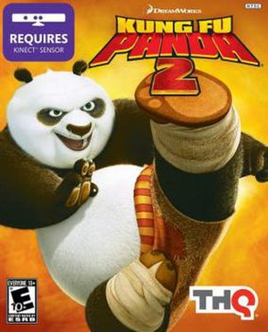 Kung Fu Panda 2 (video game) - Image: Kung fu panda 2 xbox cover