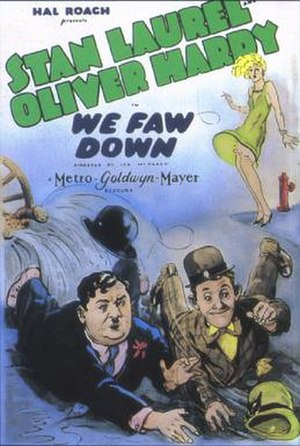 We Faw Down - Theatrical release poster
