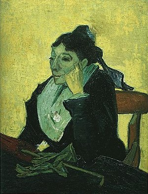 L'Arlésienne (painting) - Image: L Arlesienne With Gloves And Umbrella