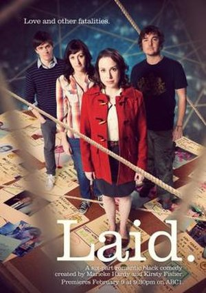 Laid (TV series) - Promotional poster for the series