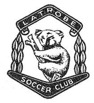 Bardon Latrobe FC - Latrobe SC badge (ca 1960s)