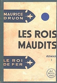 novel series by Maurice Druon