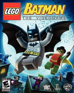 Lego Batman: The Videogame - Cover art for Lego Batman: The Videogame