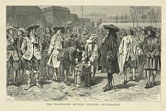 Leisler's Rebellion - Image: Leisler's Declaration