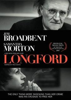 <i>Longford</i> (film) 2006 film by Tom Hooper