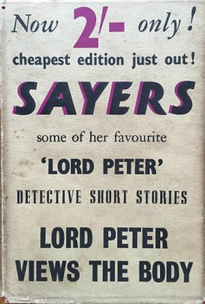 Lord Peter Views the Body - Lord Peter Views the Body cover