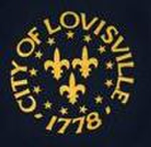 Seal of Louisville, Kentucky - Previous seal of Louisville