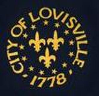 Seal of Louisville, Kentucky - Previous seal of Louisville