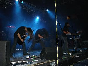 Mar de Grises - Mar de Grises at Firebox Metal Fest, Seinajoki, Finland, 2008