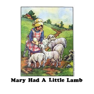 Mary Had a Little Lamb (Wings song) - Image: Mary Had a Little Lamb by Wings front cover