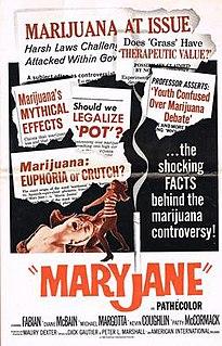 <i>Maryjane</i> (film) 1968 film by Maury Dexter