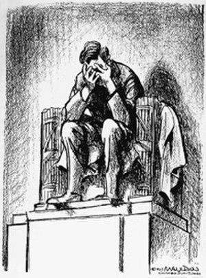 Bill Mauldin - Mauldin's famous cartoon following the Kennedy assassination