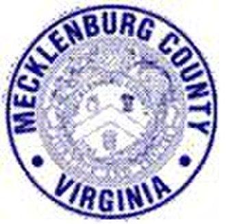 Mecklenburg County, Virginia - Image: Mecklenburg Seal