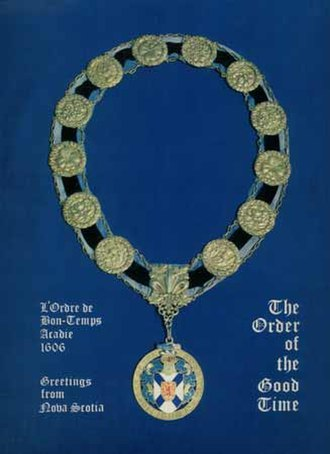 Order of Good Cheer - Image: Medallion of the Order