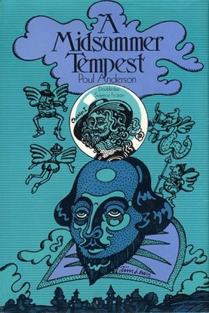 A Midsummer Tempest - First edition cover