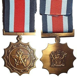 Military Merit Medal (South Africa) - Image: Military Merit Medal (South Africa)
