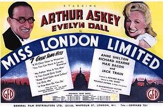Miss London Ltd. - Image: Miss London Ltd. Film Poster