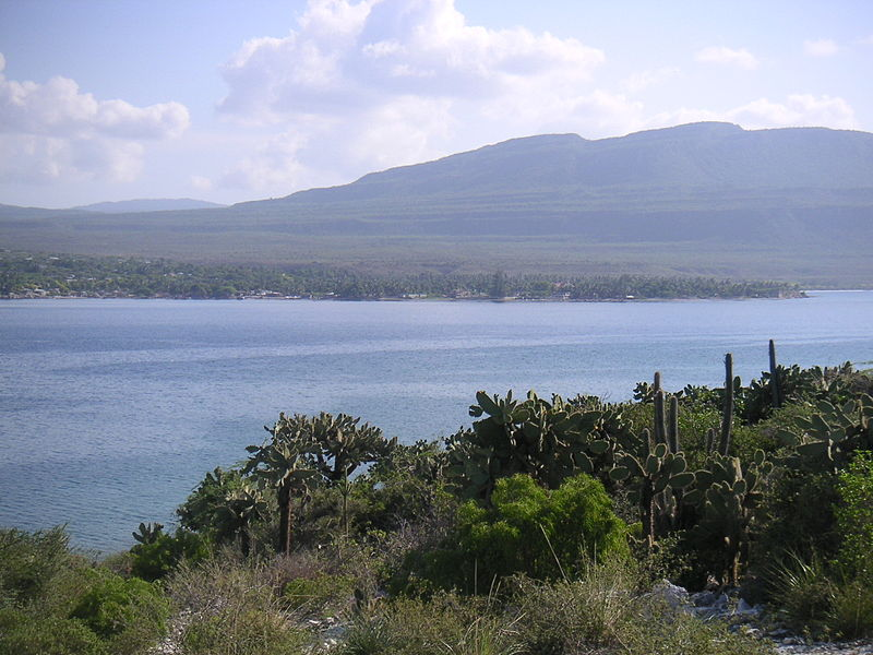 Môle-Saint-Nicolas, as seen from Presque Île