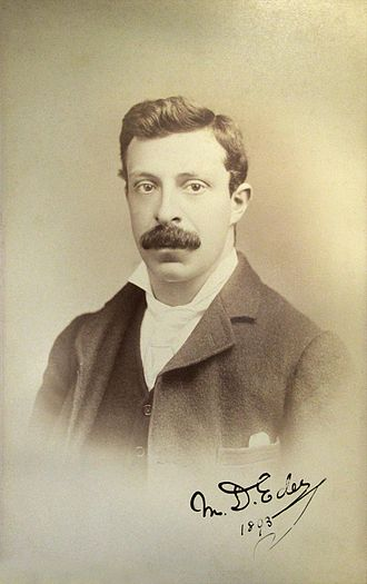 David Eder - David Eder in 1893