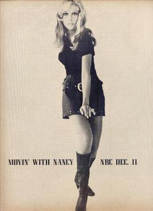 Movin' with Nancy - Print advertisement