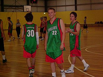 Mount Riverview, New South Wales - Renegades Basketball team in action 2005