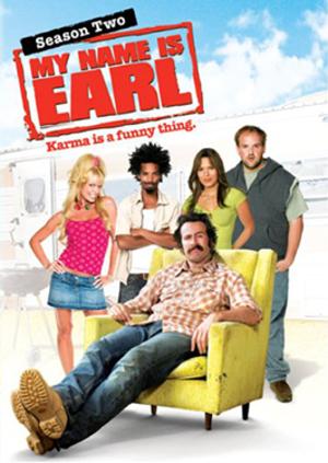 My Name Is Earl (season 2) - DVD cover