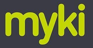 Myki public transport ticketing system in Victoria, Australia