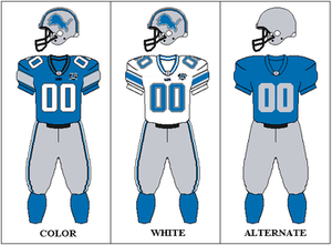 2008 Detroit Lions season - Image: NFCN 2008 Uniform DET