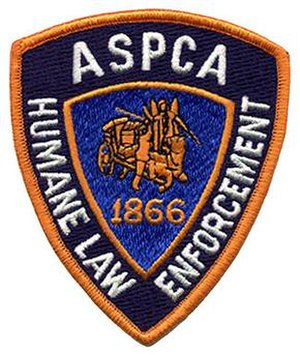 Animal control service - ASPCA Humane Law Enforcement Division patch