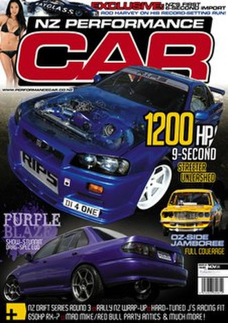 NZ Performance Car - NZ Performance Car issue 143, November 2008.