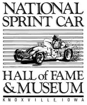 National Sprint Car Hall of Fame & Museum - Image: National Sprint Car Hall of Fame Logo