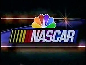 NASCAR on NBC - First NASCAR on NBC logo from the 1999 Pennzoil 400