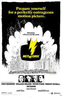 <i>Network</i> (1976 film) 1976 film by Sidney Lumet