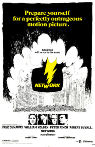 Network (1976 film) - Theatrical release poster