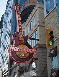 The Niagara Falls Hard Rock Cafe