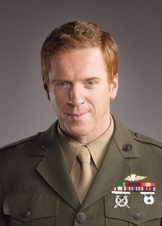 Nicholas Brody fictional character on the American television/drama thriller Homeland