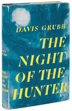 The Night of the Hunter (novel) - First edition cover (publ. Harper Brothers)